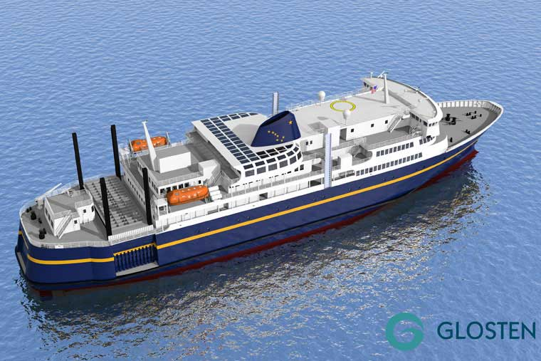 Tustumena Replacement Vessel Conceptual Drawing