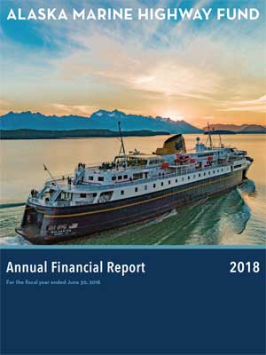 Screenshot of the 2018 Annual Financial Report