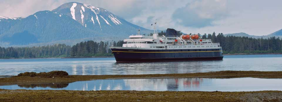 The MV Matanuska departing Haines Alaska © Brian Adams Photography