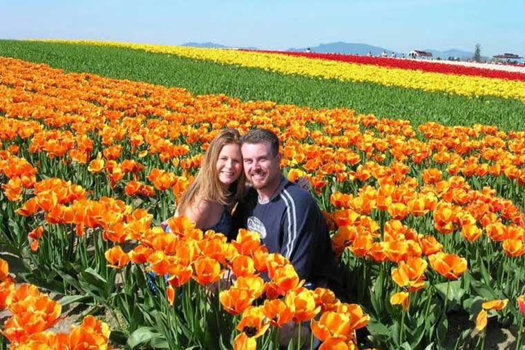 Activities around the area including multiple Tulip farms to visit © Alaska Marine Highway System