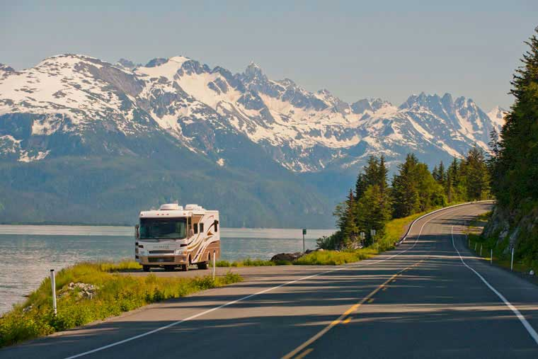 Disembarking in Haines allows access to the Alaska Road System © Joshua Roper Photography
