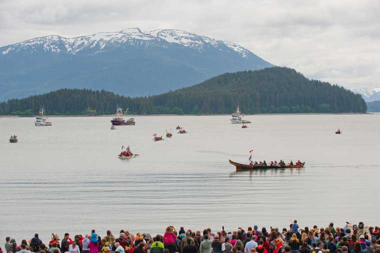 Native Alaskan Celebration in Auke Bay © Joshua Roper Photography
