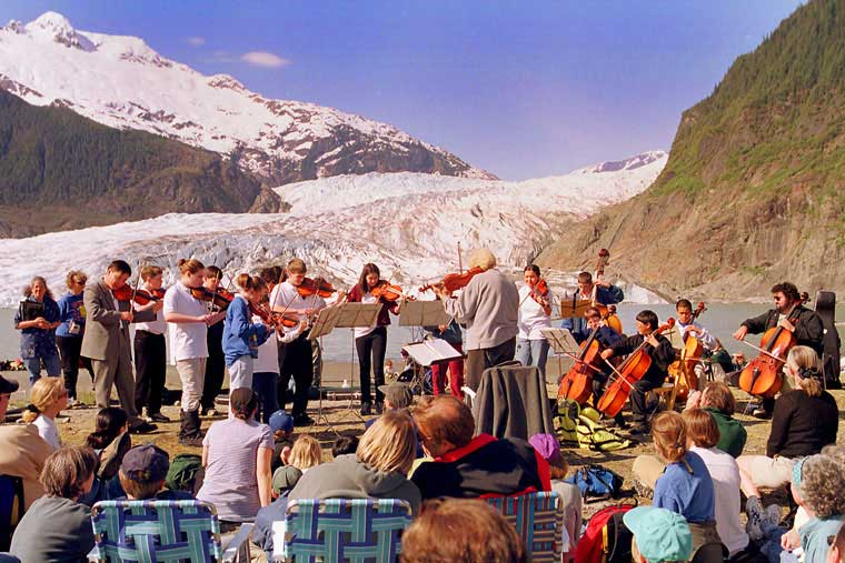 Arts are a big part of Juneau community © Alaska Marine Highway System