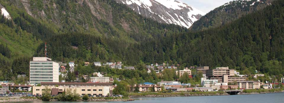 Downtown Juneau skyline © Joshua Roper Photography