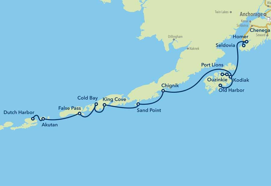 Homer Alaska Map Area.Kodiak Alaska Alaska Ferry Community Information