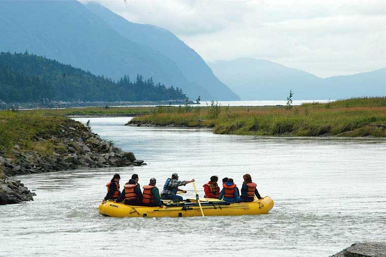 River rafting adventures are a great way to see the area © Skagway CVB