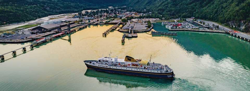 Skagway Alaska   Alaska Ferry Community Information