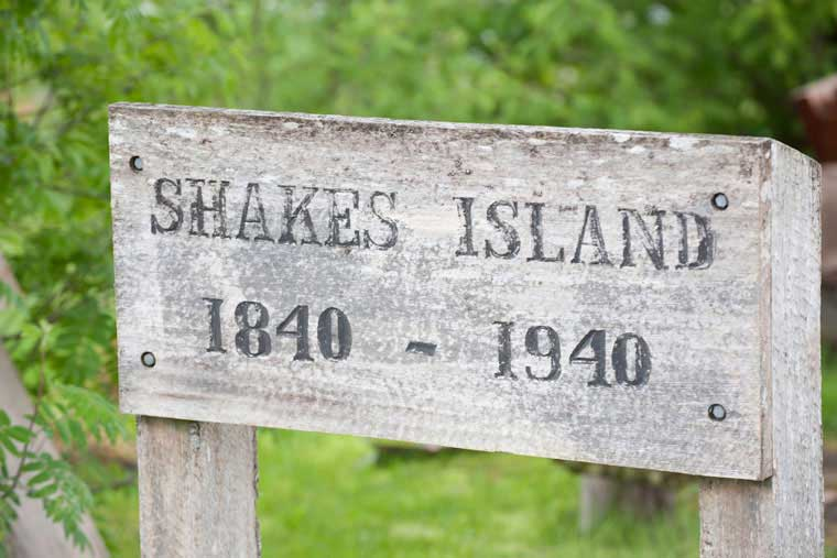 Shakes Island is rich in history and preservation © Joshua Roper Photography