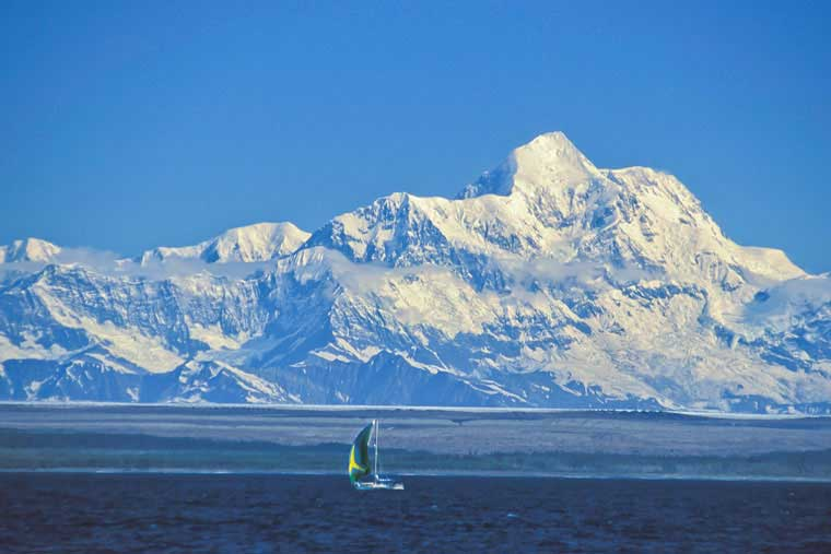 Sailing in Yakutat Bay © Alaska Marine Highway System