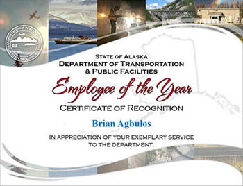Employee Spotlight, Transportation & Public Facilities