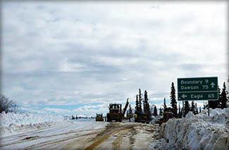 Click for larger view view of Alaska Highway photo