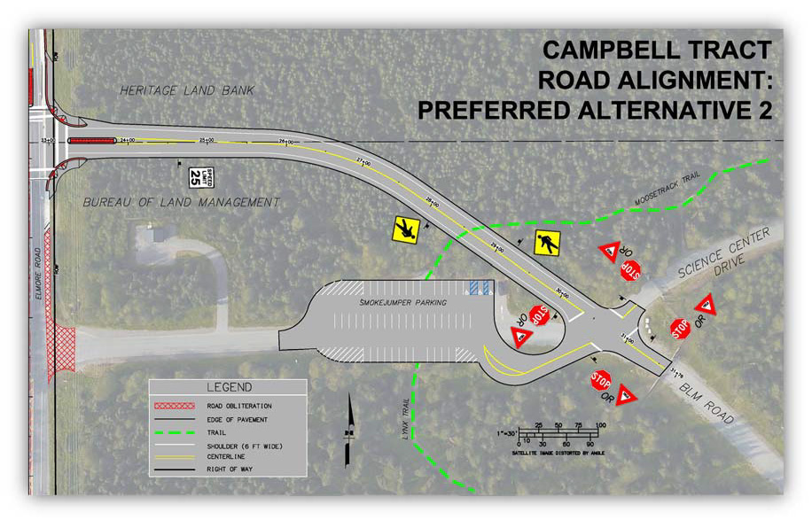 CTF Alternate Entrance Alignment, Central Region Projects