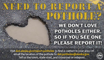 small infographic about potholes that opens a larger version