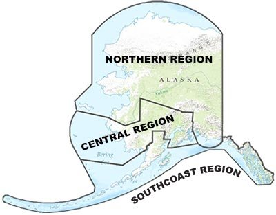 Alaska DOT&PF Regional Map