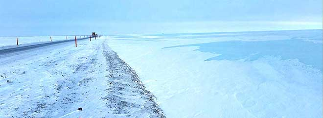 photo Dalton Highway flooding