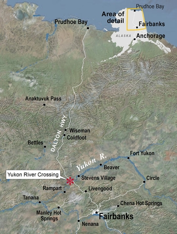 Yukon River Recon study area