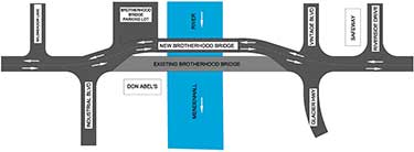 Brotherhood Bridge Traffic Revision image