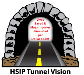 HSIP Tunnel Vision graphic