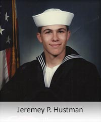 Click to learn more about veteran Jeremey Hustman
