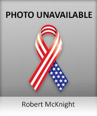 Click to learn more about veteran Robert McKnight