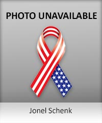 Click to learn more about veteran Jonel Schenk